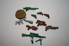 for trade (kenneth nielsen a.k.a Qenhyt) Tags: for lego trade weapons freebies brickarms