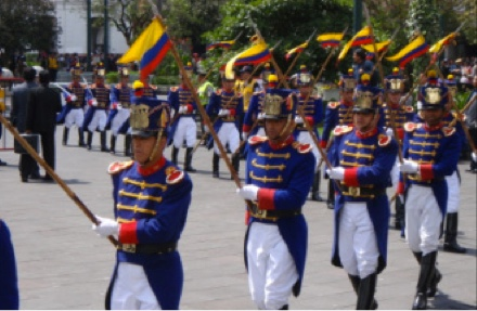Ecuador presidential guard