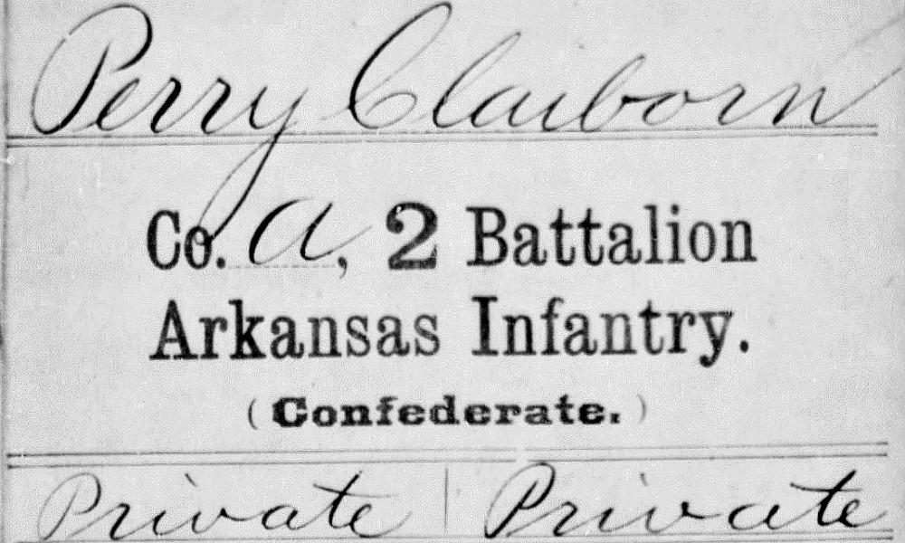 Claiborn Perry, Jr Enlistment