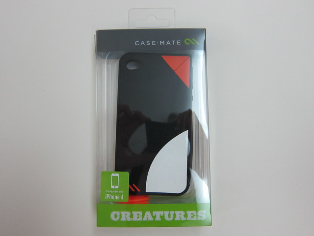 Case-Mate Waddler Penguin Case (Black) For iPhone 4/4S