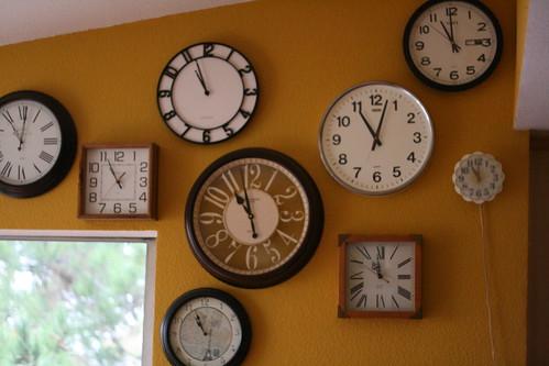 clock wall.
