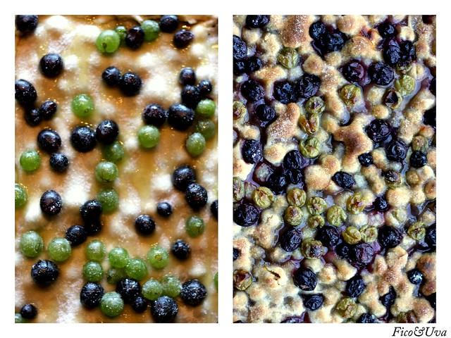 Schiacciata uva  prima&dopo