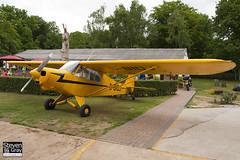G-BIDJ - 18-6007 - Private - Piper PA-18A-150 Cub - Panshanger - 110522 - Steven Gray - IMG_4127