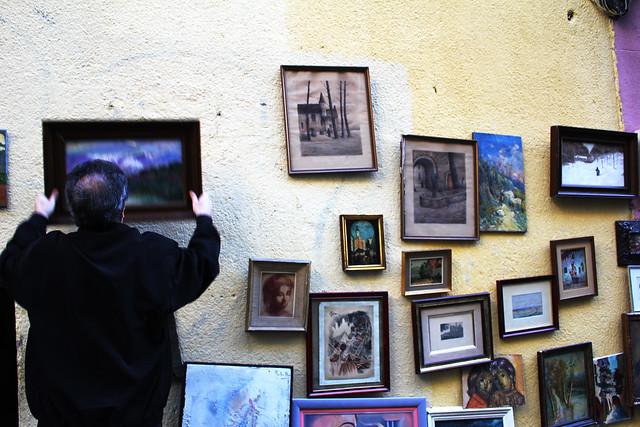 el rastro flea market, madrid