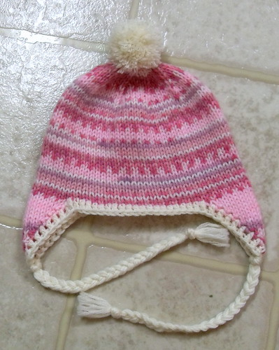 Fake Isle Earflap Hat