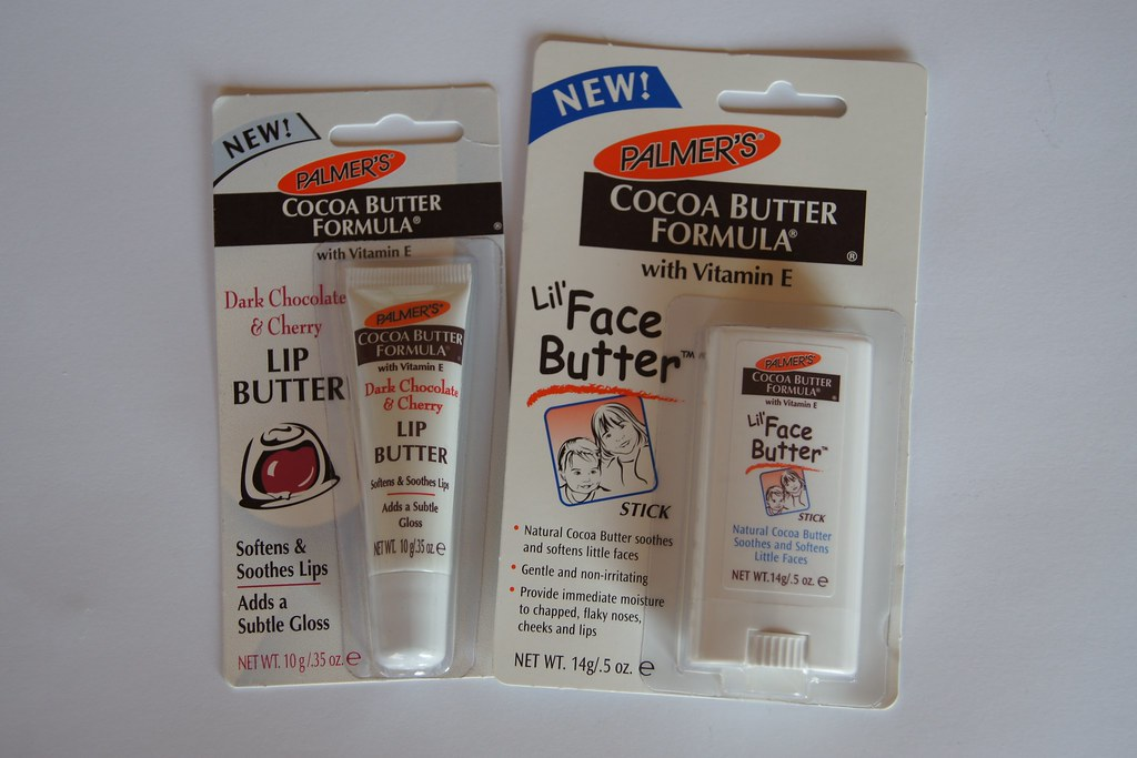 Palmer's Lip Butter and Face Butter