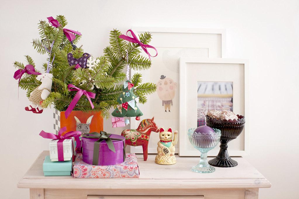 christmas morning, christmas decoration