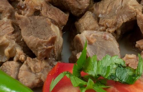detaliu carne de vita