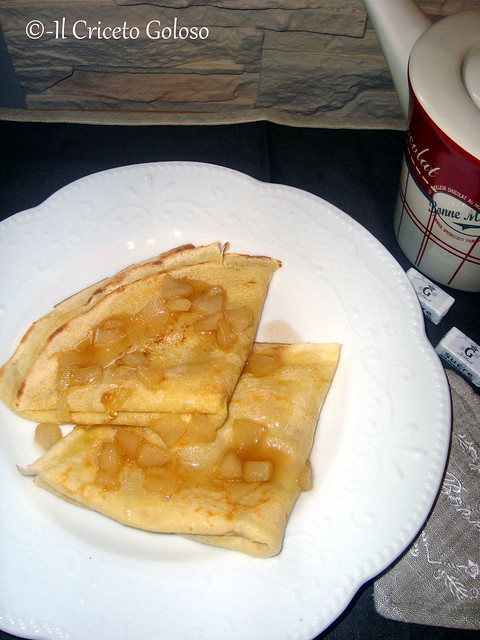 Crepes alle pere caramellate 2