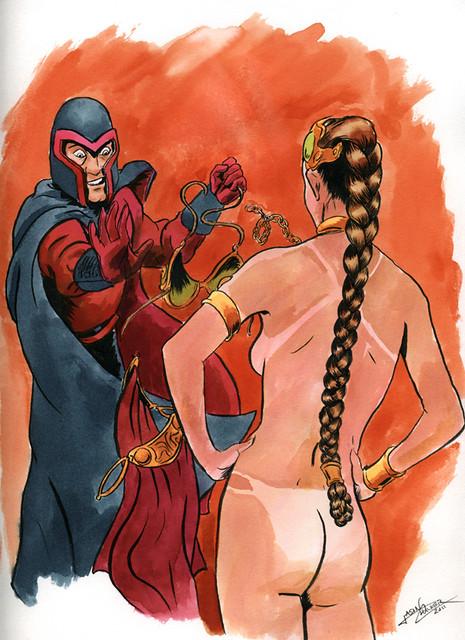 Magneto vs. Leia...