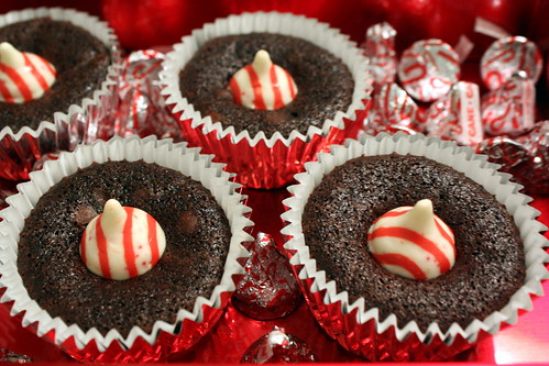 Candy Cane Brownies for Runners