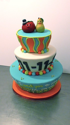 11-11-11 Carnival Themed Wedding by CAKE Amsterdam - Cakes by ZOBOT