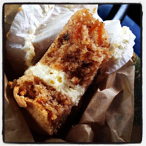 Super moist carrot cake from Bourke.