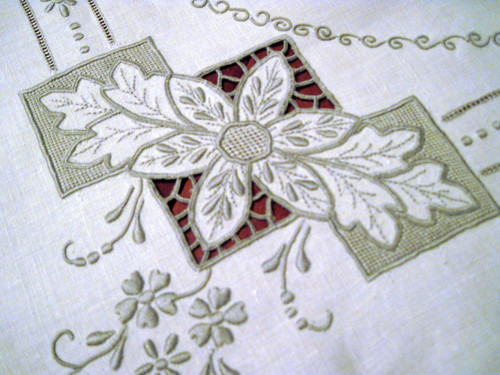 Madeira Cutwork Tablecloth