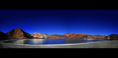 Pangong Tso or Pangongtso Ladakh India (Anoop Negi) Tags: china travel portrait india holiday photography prime one for photo high media tour image photos altitude delhi indian bangalore creative images best tibet number po destination karakoram tso mumbai premier anoop himalayas ladakh negi pangong naturesfinest pangongtso photosof lukung ezee123 imagesof jjournalism