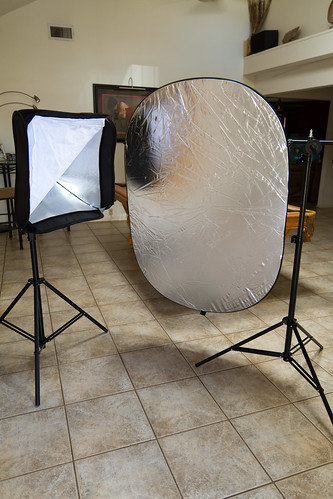Softbox and reflector