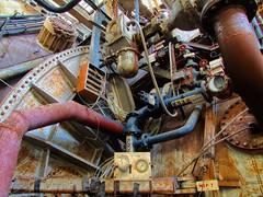 Pyestock - NGTE (The Urban Adventure) Tags: abandoned fuji urbandecay machinery hdr urbanexploring urbex industrialdecay ngte pyestock gasturbines talkurbex