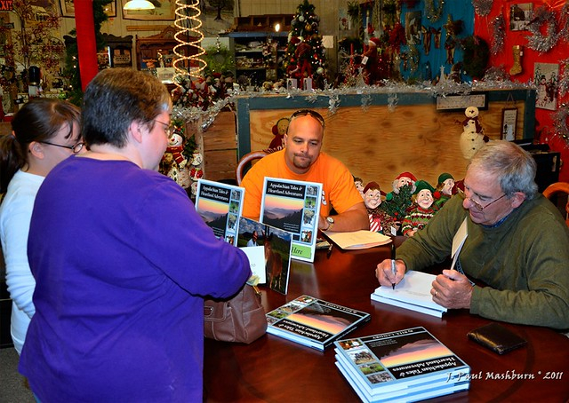 Bill Landrys Book Signing