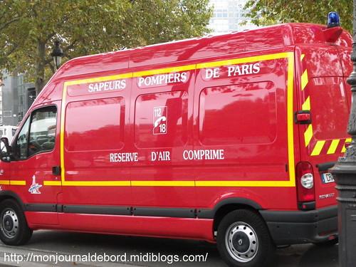 Véhicule Sapeurs Pompiers de Paris 3
