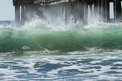 _MG_2352-2 Cayucos Pier Wave (Ashala Tylor Images) Tags: ocean water pier waves tide pacificocean cayucos centralcoastofcalifornia ashalatylorcom