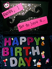 Birthday Love (Lady Pandacat) Tags: birthday personal card 2011 pandacat canong9 pandacatbaby tinaangel turning30wasprettyawesome
