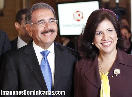 Danilo Medina y Margarita Cedeño Almuerzo Conep