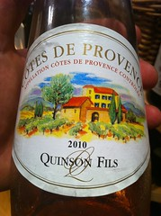 2010 Quinson Fils Rose