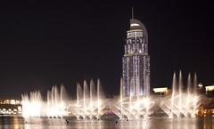 the dubai fountain (jandudas) Tags: fountain canon asia asien dubai uae arabemirates businessbay    zia eos5dmarkii