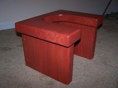Queening Stool (twolaneblacktop1320) Tags: nude bdsm smotherbox queeningchair queeningstool