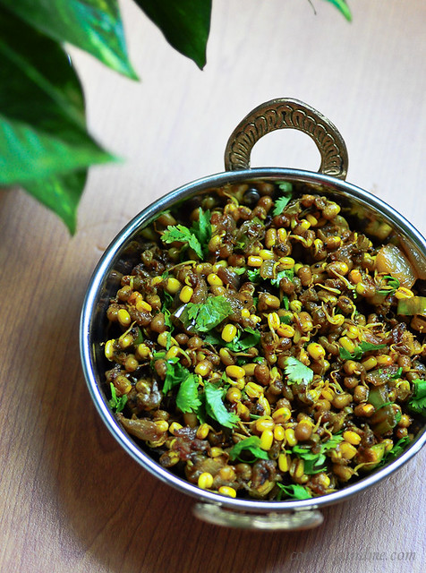 Moong Usal Recipe - A Popular Maharashtrian Dish