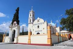 TEMPLO DEL SEÑOR DEL CALVARIO - Tochimilco - Puebla - México (Luis Enrique Gómez Sánchez) Tags: church mexico churches mexique messico メキシコ мексика μεξικό churchesofmexico μεξικ