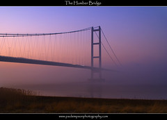 Humber Bridge Sunset (Paul Simpson Photography) Tags: uk sunset england mist water weather fog dusk structure humberbridge humberside february2008 doubleniceshot paulsimpsonphotography flickrstruereflection1 flickrstruereflection2 flickrstruereflection3 flickrstruereflection4 flickrstruereflection5 flickrstruereflection6 humberbridgeatsunset