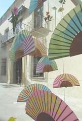 (me.joshi.pxl) Tags: city colour shopping spain estate feria agosto shopwindow andalusia vetrina malaga spagna citt ventaglio 2011