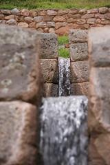 Inca irrigation canal at Tipn, Cusco, Peru (Daniel_Witte) Tags: peru inca cuzco ruins cusco inka irrigation tipn