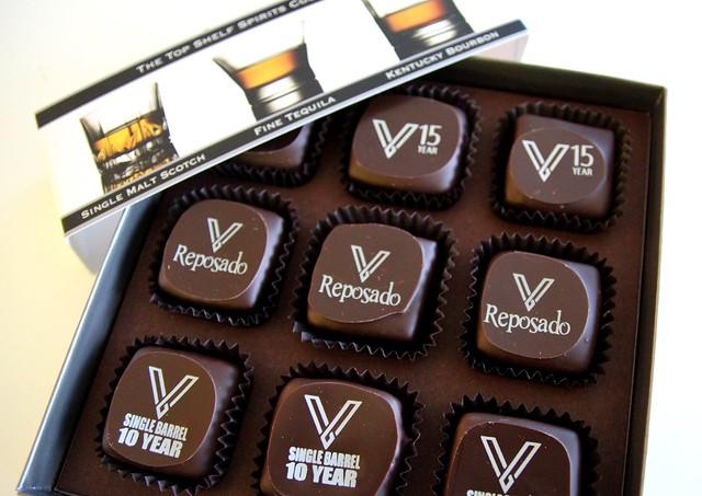 Twice the Vice spirited chocolates by Caroline on Crack