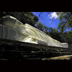 Reclining Buddha in Ta Cu mountain - -clicking-
