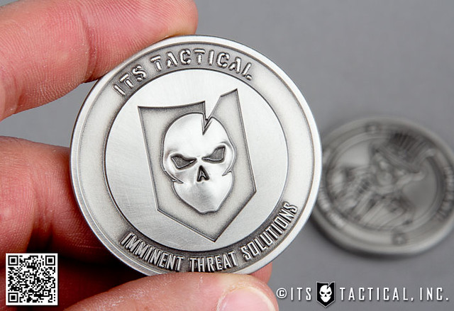 ITS Challenge Coin (Spy Coins Edition)