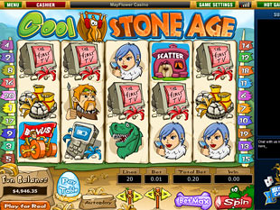 Cool Stone Age slot game online review