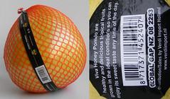 lichtgele pomelo