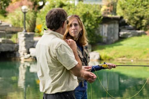 Robin Kadet at the Orvis Fly-Fishing School 3