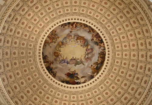 capitol dome, golden