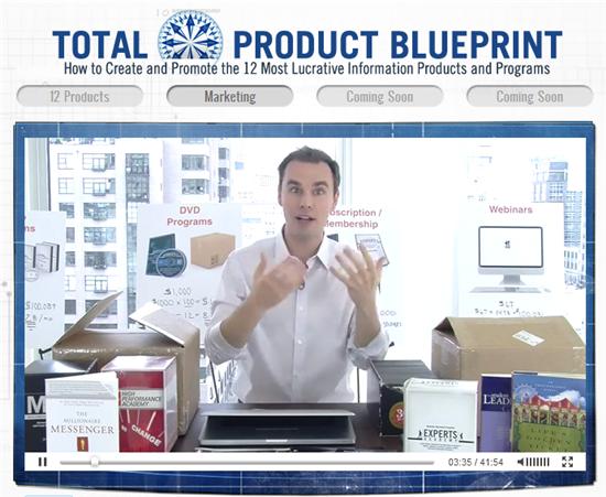 ブレンドン・バーチャード(Brendon Burchard)、『Total Product Blueprint』(トータル・プロダクト・ブループリント)の「無料動画講座シリーズ」の2本目の動画