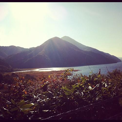 裏磐梯 秋元湖。