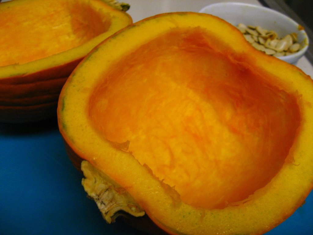 Seeded pumpkins