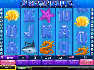 Great Blue Slot Machine