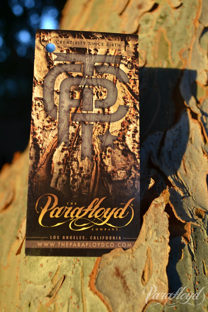 Front view of new Parafloyd hang tags