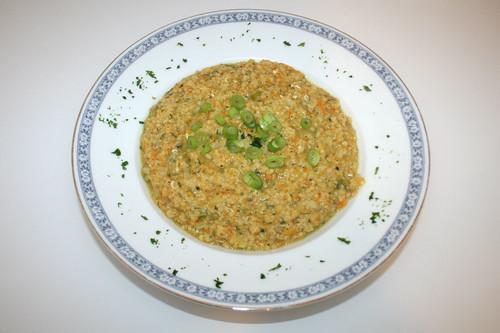 31 - Hirse-Eintopf / Millet stew - serviert
