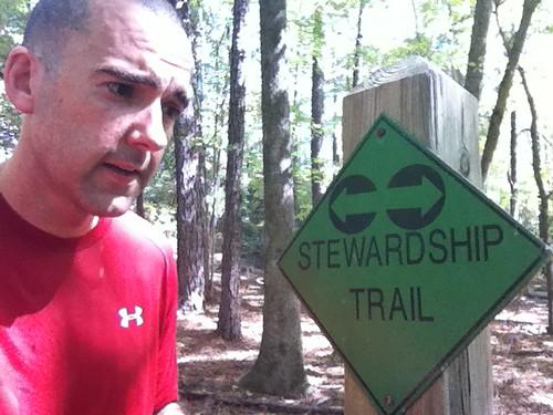Still on the right trail