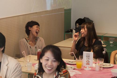 みんな笑顔@トマトカフェ