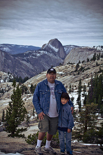 Father/son at Yosemite